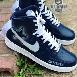 c3b35a6b075f Shoes - Custom dallas cowboys AF1 s